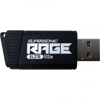 USB флеш накопичувач Patriot 512GB Supersonic Rage Elite USB 3.1 (PEF512GSRE3USB)