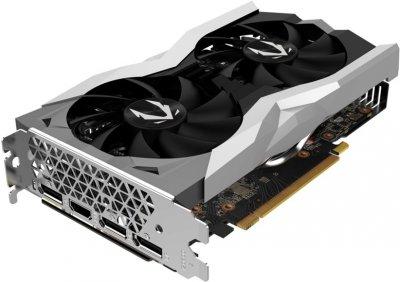 Zotac PCI-Ex GeForce RTX 2060 AMP 6GB GDDR6 (192bit) (1800/14000) (HDMI, 3 x DisplayPort) (ZT-T20600D-10M)