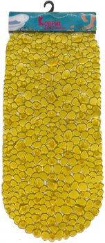 Килимок у ванну кімнату Верес Камінці з мушлями Овал 39х69