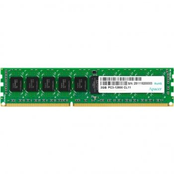Оперативна пам'ять DD3 2GB 1600 MHz Apacer (DL.02G2K.HAM)