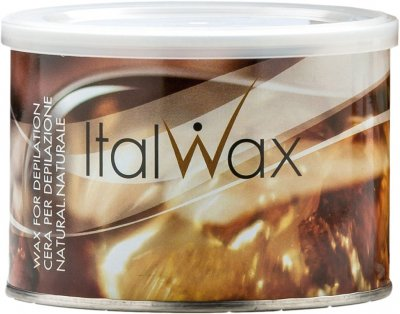 Теплый воск для депиляции ItalWax Натуральный в банке 400 мл (8032835161009)