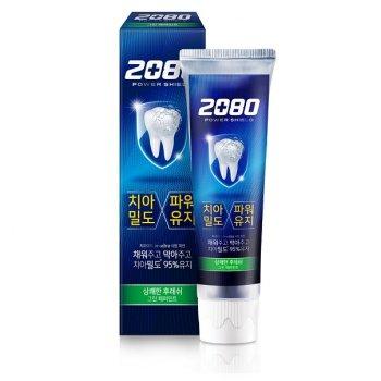 Зубная паста с экстрактом перечной мяты 2080 Power Shield Green Peppermint 120 г