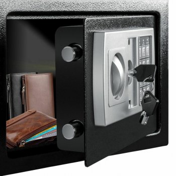 Сейф Kesser NR31 Черный стальной мебельный для офиса и дома