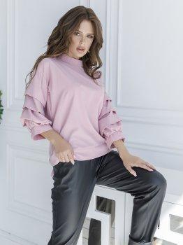 Блузка ISSA PLUS SA_21 Рожева