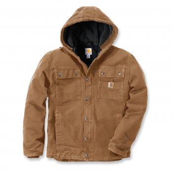 Куртка котоновая Carhartt Sandstone Barlett Jacket - 102285 (Carhartt Brown)