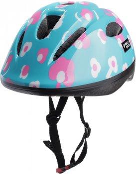 Велосипедний дитячий шолом Green Cycle MIA 50 — 54 см Фіолетовий (HEL-62-84)