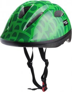 Велосипедний дитячий шолом Green Cycle Flash 48 — 52 см Зелений (HEL-53-61)