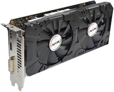 AFOX PCI-Ex GeForce GTX 1660 6GB GDDR5 (192bit) (1830/8000) (DVI, HDMI, DisplayPort) (AF1660-6144D5H2)