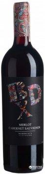 Вино BDX Bordeaux Merlot червоне сухе 0.75 л 13.5% (3500610140747)