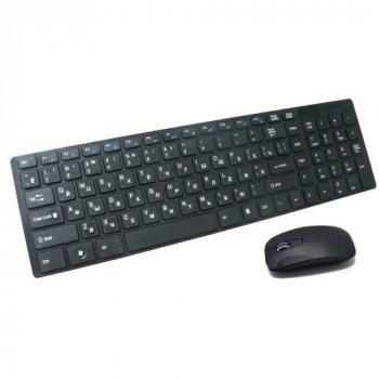 Бездротова клавіатура і миша keyboard K06