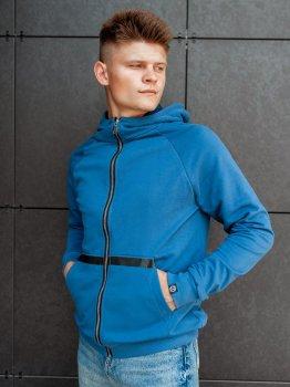 Спортивная кофта BEZET Zipper blue'20