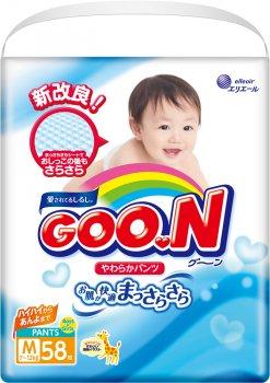 Трусики-підгузки GOO.N для дітей 7-12 кг розмір M унісекс 174 шт. (853079-3) (4500006493067)