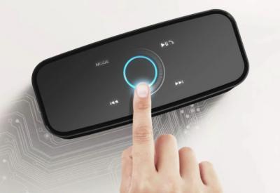 Колонка блютуз беспроводная DOSS Soundbox Touch black 12 Вт Bluetooth 4.0