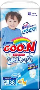 Підгузки-трусики GOO.N для хлопчиків 12-20 кг розмір Big XL 114 шт. (853082-3) (4500006493098)