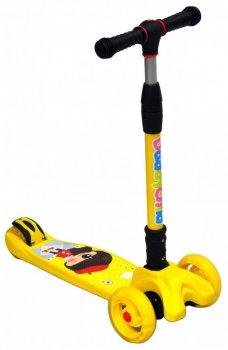 Самокат Daddychild S921 Желтый (30052-1)