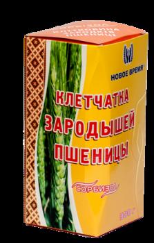 """Клітковина зародків пшениці для схуднення, очищення організму """"Сорбизол"""" Новий час, 300 г"""