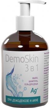 Демоскін 3 в 1 Botanica мило для обличчя і тіла при демодекозі та акне 280 мл (4820136550462)