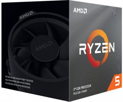Процессор AMD Ryzen 5 3600X 3.8GHz / 32MB (100-100000022BOX) sAM4 BOX