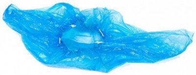 Бахилы АТМА полиэтиленовые 50 пар (100 шт) Голубые (BP4016_100)