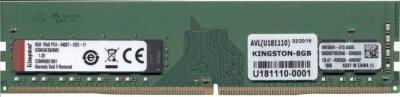 Оперативная память Kingston DDR4-2400 8192MB PC4-19200 Server Premier ECC (KSM24ES8/8ME)