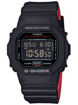 Годинник Casio DW-5600HR-1ER G-Shock 43mm 20ATM