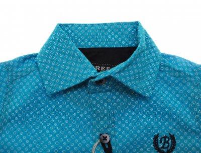 Рубашка Breeze Ярко-синий G-357