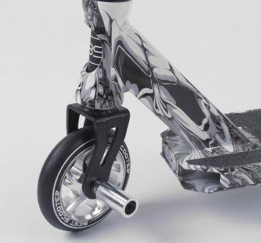 Самокат трюковий Best Scooter 93215 з HIC системою Пегами Чорний срібло