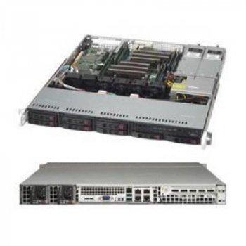 Корпус сервер Supermicro 1U 600W BLACK (CSE-113MFAC2-R606CB)