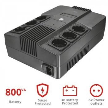 Джерело безперебійного живлення Trust Maxxon 800VA UPS (23326_TRUST)