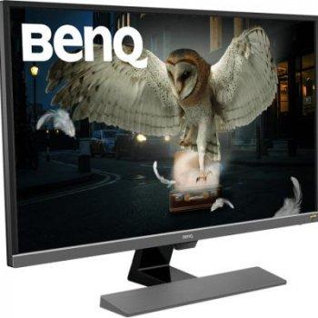 Монітор BENQ EW3270UE Grey-Black (9H.LGVLA.FSE)