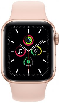 Смарт-годинник Apple Watch SE GPS 40mm Gold Aluminium Case with Pink Sand Band (MYDN2UL/A)