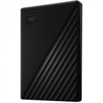 """Зовнішній жорсткий диск 2.5"""" 5TB WD (WDBPKJ0050BBK-WESN)"""