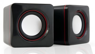 HQ-Tech HQ-SP04U 2.0 USB живлення Black&Wine