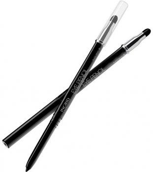 Олівець для брів Ingrid автоматичний чорний зі спонжем Smoki effect (5907619817751)