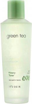 Тоник It's Skin Green Tea Watery Toner на основе зеленого чая 150 мл (8809454022017)
