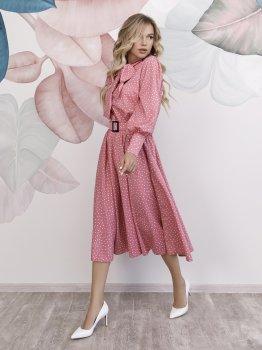 Плаття ISSA PLUS 12166 Рожеве