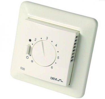 Терморегулятор DEVI Devireg 530 з датчиком температури підлоги(VIT00555)
