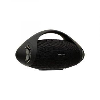 Портативна блютуз колонка Speaker Hopestar H37 WS Чорна Original 10 ВТ бездротова з флешкою радіо і хорошим стерео звуком вологозахист + стереопара (47037 I)