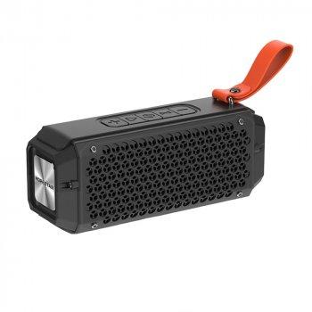 Портативна бездротова блютуз колонка Hopestar P17 Mini Speaker Чорна 10 Вт Bluetooth 4.2 із радіо флешкою і вологозахист IPX6 (47736 I)