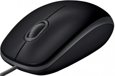 Мышь Logitech B110 Silent USB Black (910-005508)