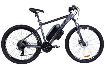 """Электровелосипед 27.5"""" F-1 500Вт 36В, 10.4Ач, макс.пробег 40км, 45 км/ч (Графитовый (м))"""