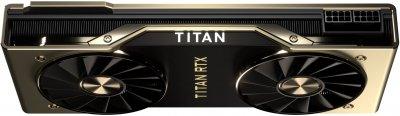 Nvidia PCI-Ex GeForce TITAN RTX 24GB GDDR6 (384bit) (1770/14000) (Type-C, HDMI, 3 x DisplayPort) (TITAN RTX)