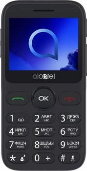 Мобільний телефон Alcatel 2019 Single SIM Metallic Silver (2019G-3BALUA1)