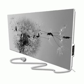 Теплова інфрачервона опалювальна панель керамічний обігрівач FLYME 600Р-diz-5 дизайнерська