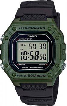 Чоловічий годинник Casio W-218H-3AVEF