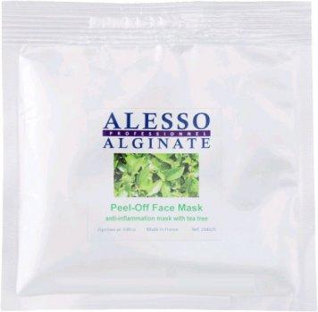 Альгинатная маска для лица Alesso с маслом Чайного дерева противовоспалительная 25 г (3273629234171)