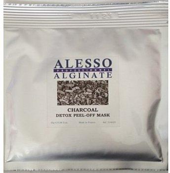 Маска для лица Alesso Charcoal Detox Детокс очищающая для стрессовой кожи 200 г (3273629314439)