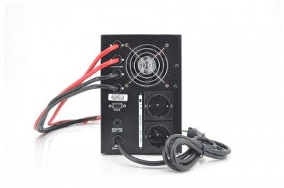 Блок безперебійного живлення RITAR RTSW-1500 LCD (1000Вт),12В, під зовн.батарею, 14,9 кг (400*145*210)