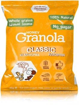 Упаковка гранола Oats & Honey Классическая 15 шт х 40 г (4820013331368)