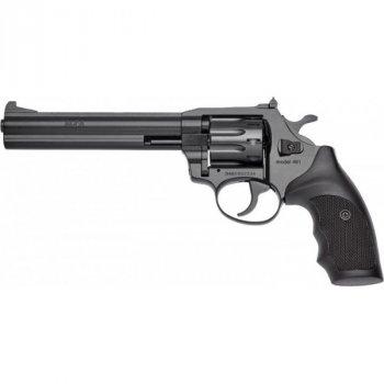 """Револьвер флобера Alfa mod.461 6"""" 4 мм №7. Воронение. Пластик"""